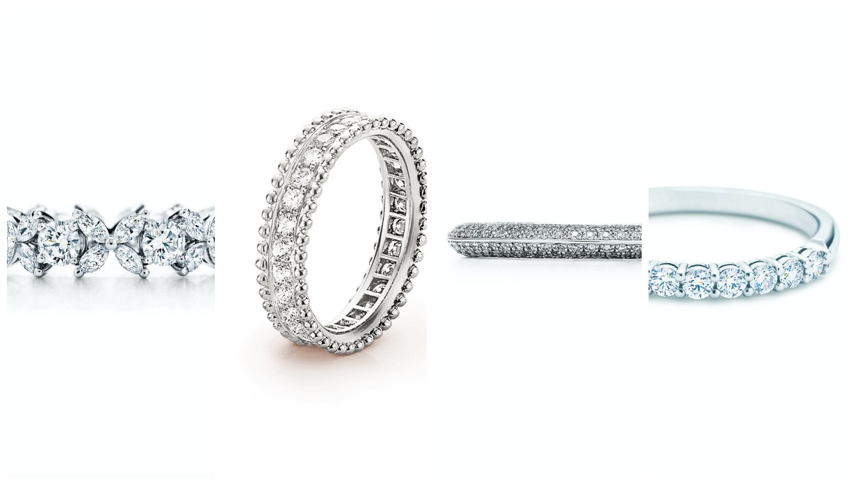 Diamond wedding bands ideas